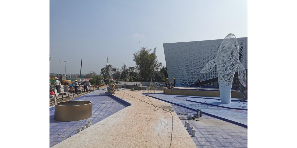 中昂·祥云府展示區園林景觀工程